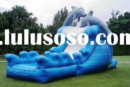 hot selling cheap inflatable water slide