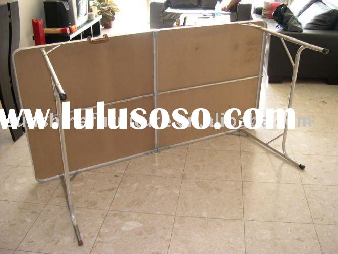 metal folding dining table
