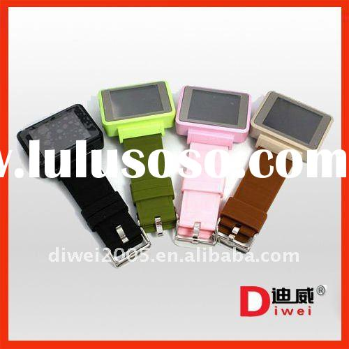 quadband pure touch screen mobile watch phone K1