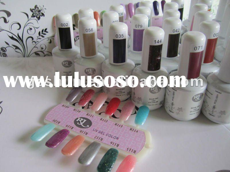 soak off UV nail gel polish