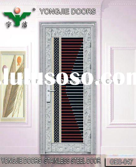 Used Metal Doors : Ss l security screen doors aluminum mesh frame for sale