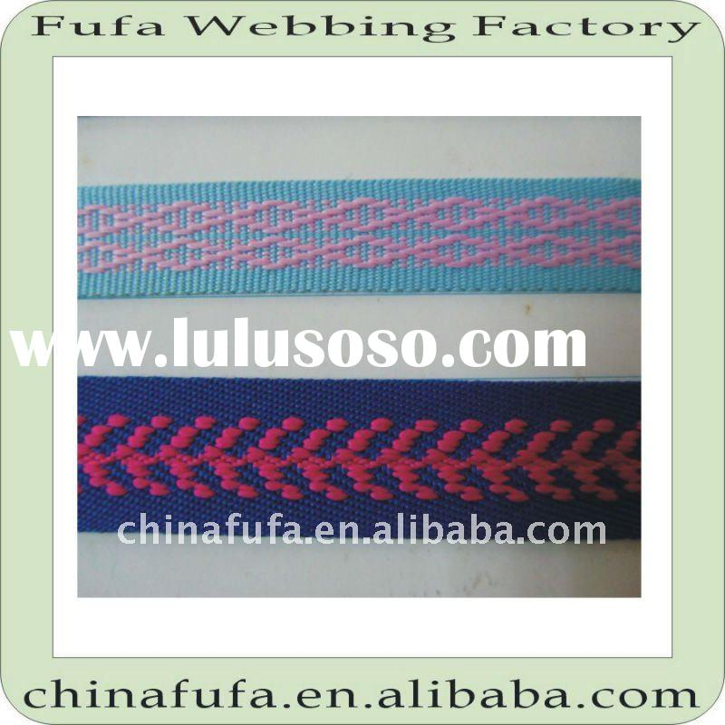 various pp/polyester/cotton/nylon woven knitted strap webbing ribbon tape band for garment bags belt