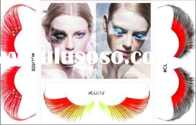 wholesale gorgeous feather eyelash in competitive price