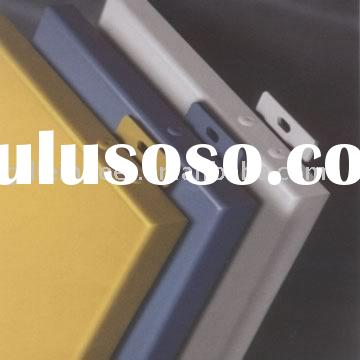 1.5mm,2mm, 2.5mm, 3.0mm fluorocarbon Coating Aluminum Curtain Wall