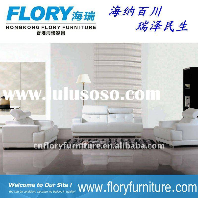 2011 european design living room sofa modern leather sofa set #F839