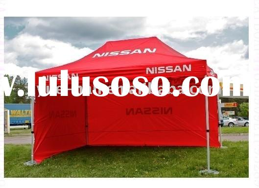 2011the best price and high quanlity Logo Printed canopy fabric gazebos canopies