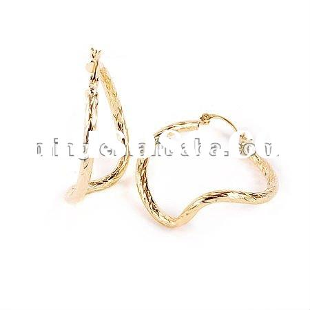 2012 Fashion Gold Earrings