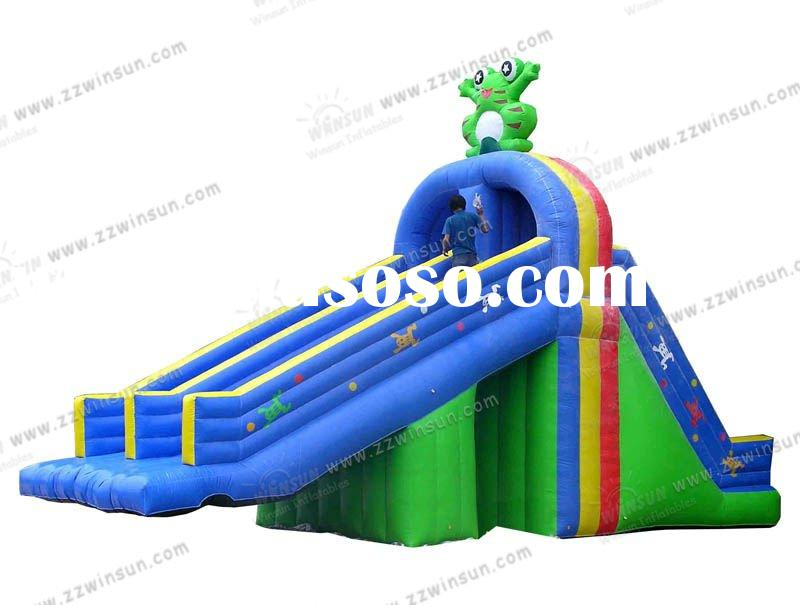 2012 hot sale pvc inflatable water Slide