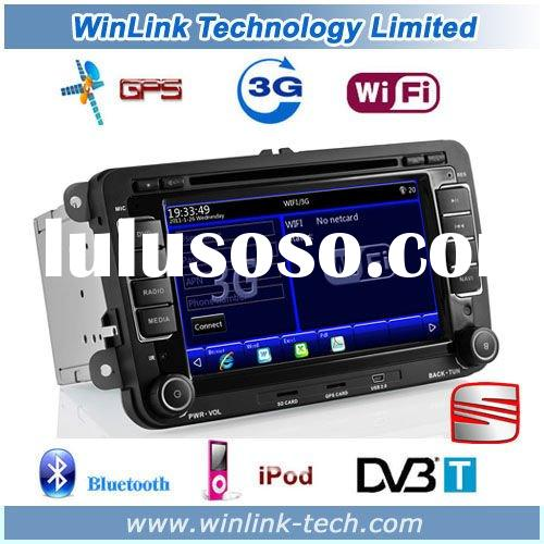 2 Din 7 Inch Touch Screen WIFI 3G Car PC With DVD GPS For VW
