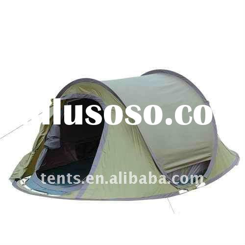 2 Person Double Wall Pop up Tent Foldable to Bag Lazy Using-Stock in Hands!