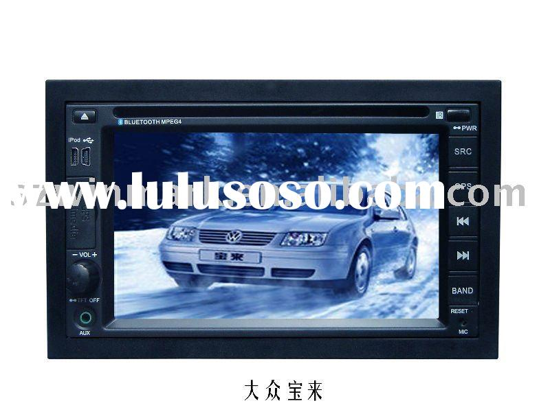 6.2 inch in dash 2 din special car dvd for vw bora with gps bt radio tv ipod