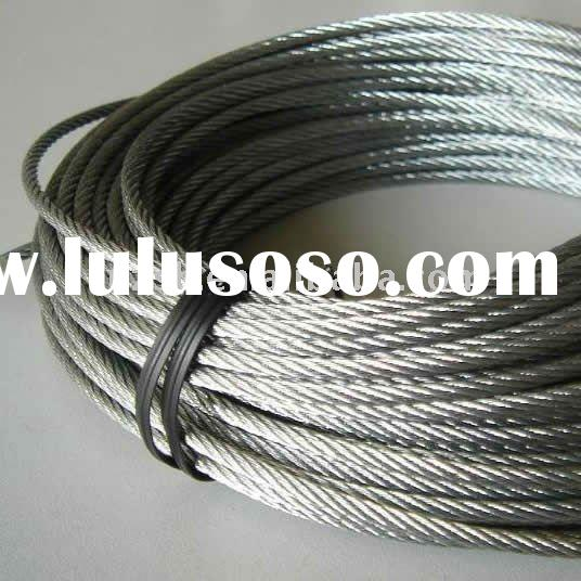7*19 Stainless Steel Wire Rope