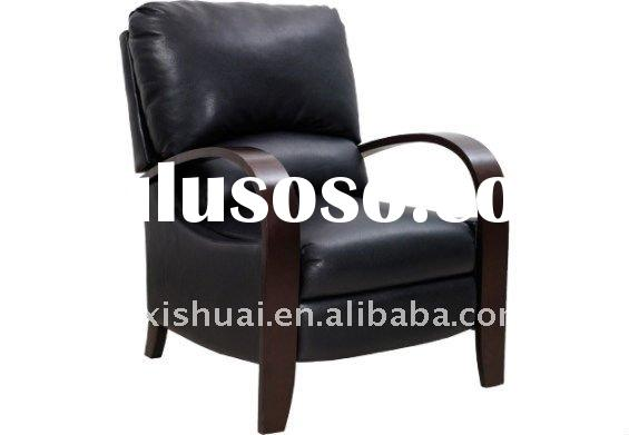 Aaron Black Reclining Accent Chair