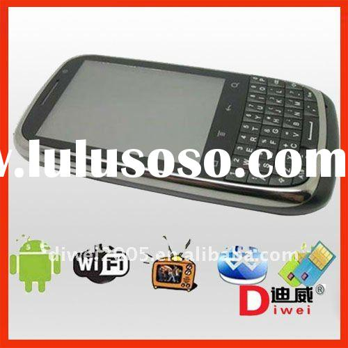 Android 2.2 OS 2.8 inch touch screen QWERTY Keyboard mobile phone G88 (WIFI TV Dual sim)