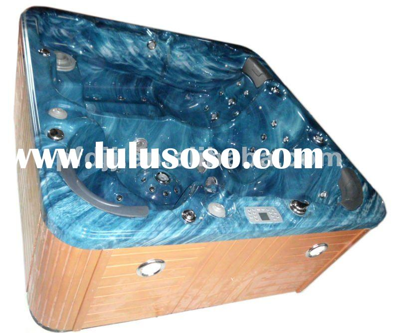 CE&FCC Approved Freestanding Acrylic Outdoor Hot Tub Spa, Massage bathtub, Whirlpool PFDJJ-04
