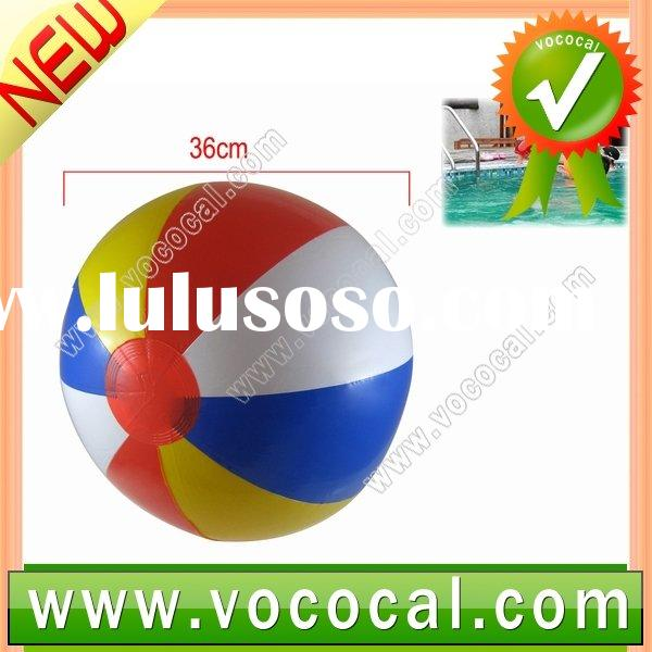 Colorful Inflatable Swimming Pool Toys Beach Ball