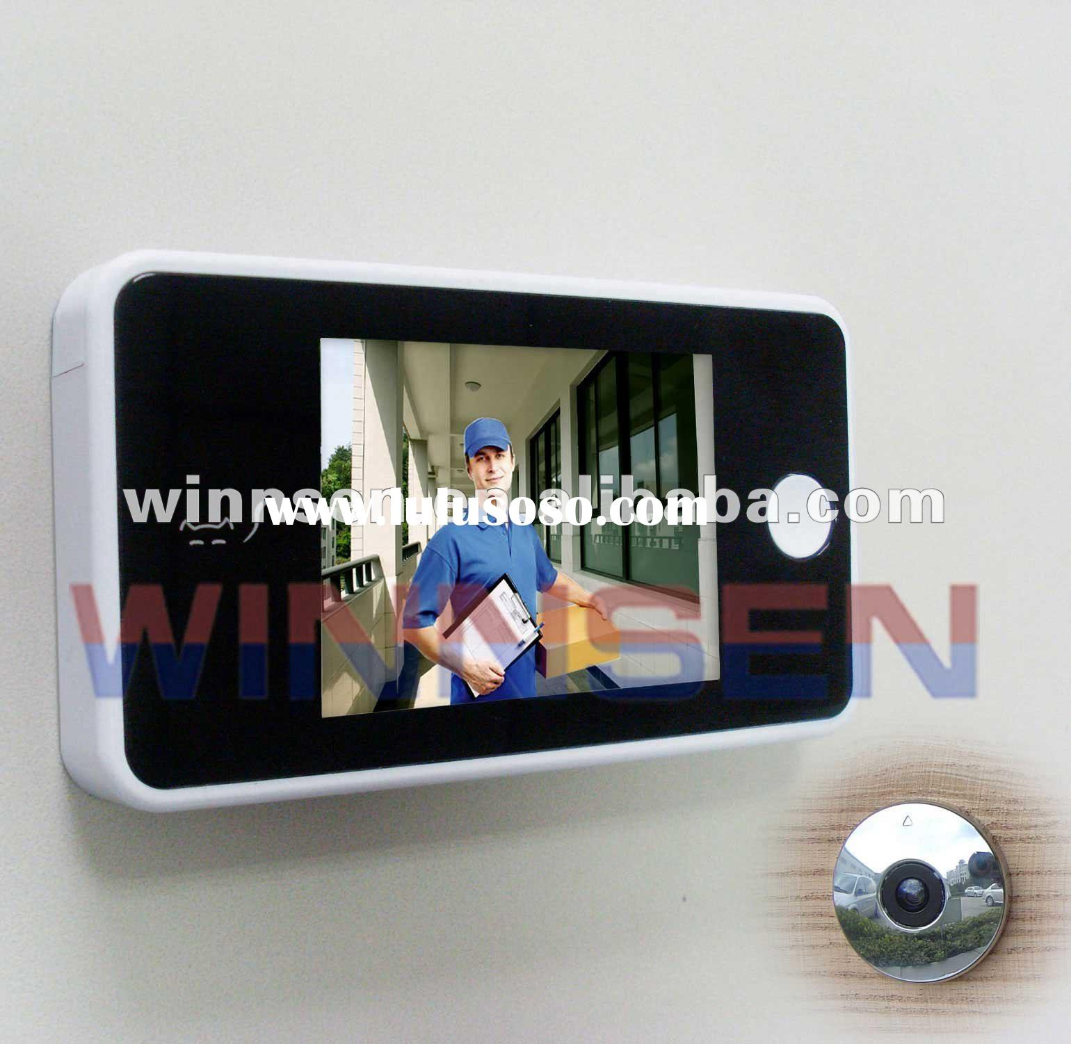Digital Door Viewer,2.8 inch LCD, Wireless Peephole Viewer, 2xAAA batteries support 5000 peepes, Hom