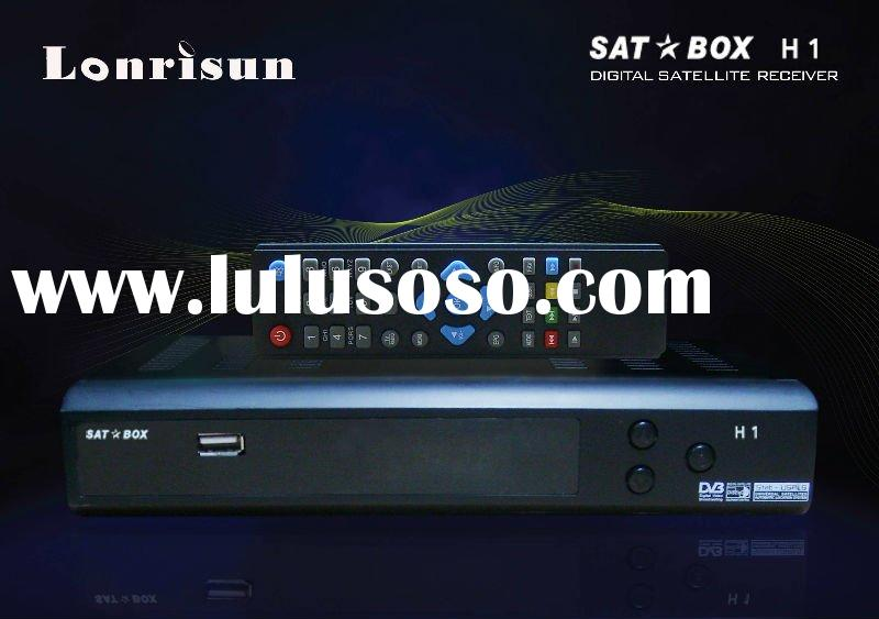 FTA HD digital satellite receiver sat box H1 free to air with ali3601 solution