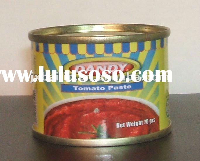 Factory! 400gr NAFDAC registration Tomato Paste in can/tin for Nigeria