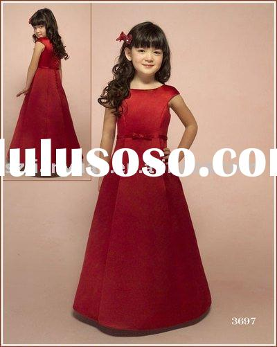 Free-shipping Wholesale Flower Girls dress