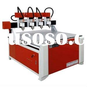 High Efficiency 4 Heads CNC Wood Carving Machine