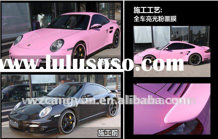 High Quality air-premeable vinyl film car Sticker