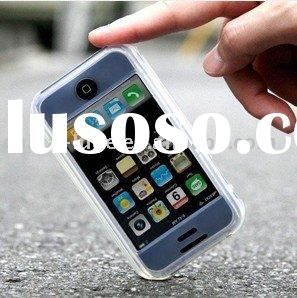 Hot Sale Hand Made Silicone Mobile Phone Cases(4G)