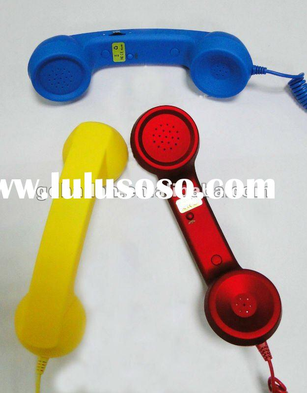 Hot sales POP phone 3.5mm Retro Phone Handset Receiver for mobile phone