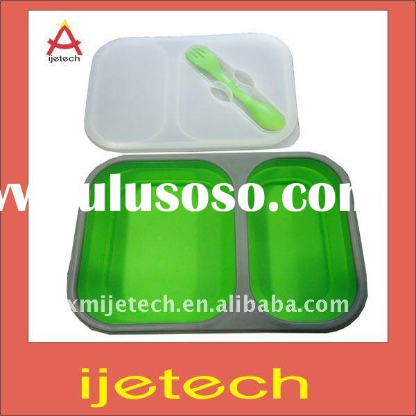 Hotsale Silicone Collapsible Bento Lunch Box