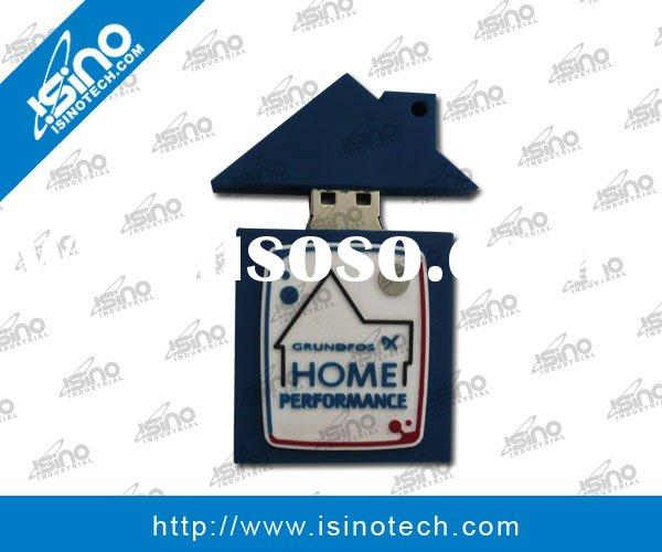 House Shape USB Flash Drive, Excellent Gift for Real Estate Industry, Customizations Available