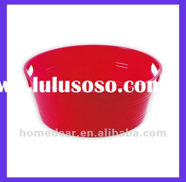 KH-425 round plastic basin with handles