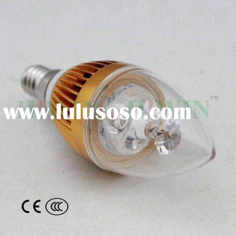 LED Candle Bulb 3W for AC22V with E14 lamp head
