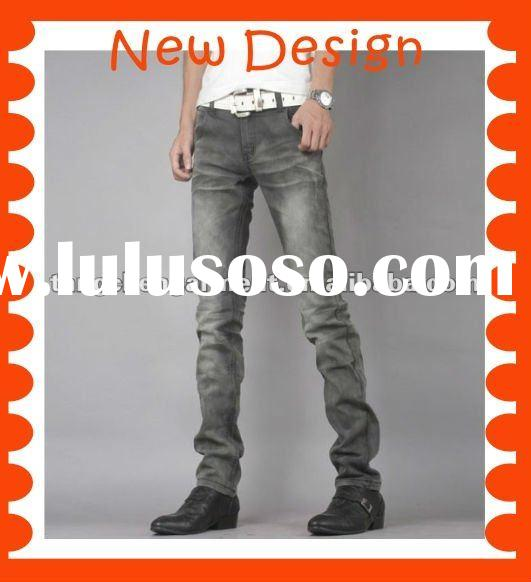 Latest design top brand name jeans pants for men
