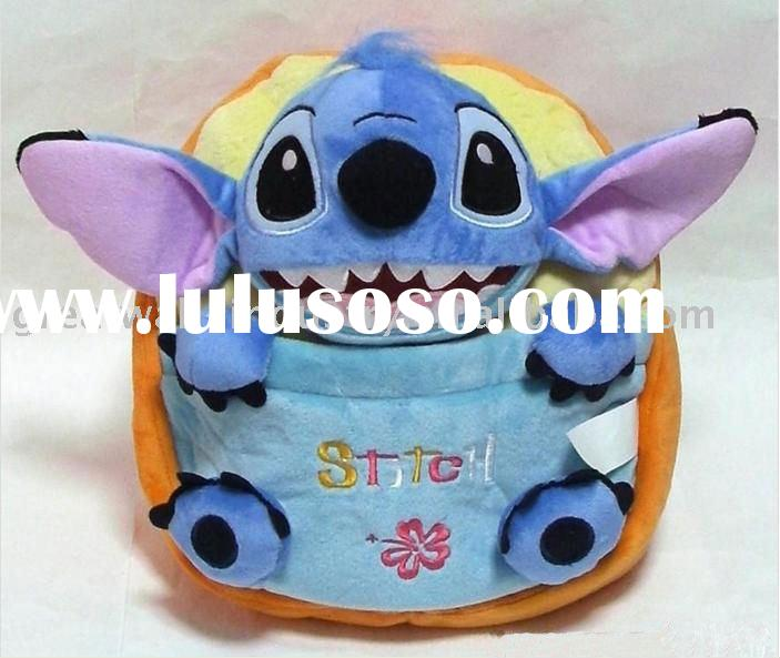 Lilo n Stitch Plush Book bag