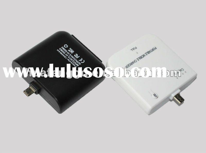 Micro USB Portable Mobile Charger for HTC Blackberry Nokia 1900mAh