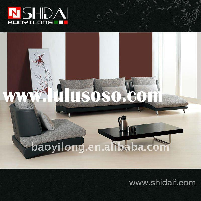 Modern italian fabric corner sofa furniture G101