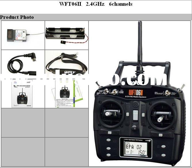 New!!! 2.4Ghz 6 Channel RC radio control transmitter for RC toys rc radio system