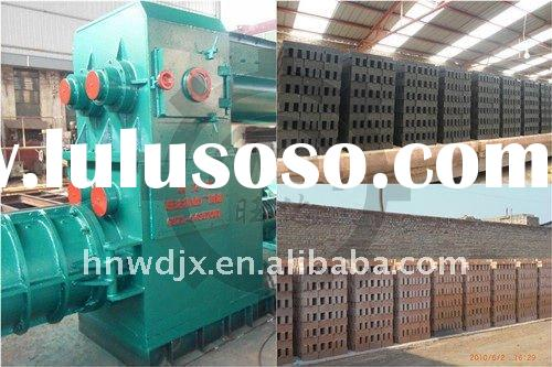New fired red soil/hollow bricks making machine on sale