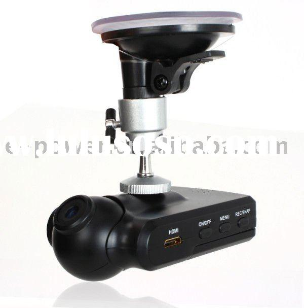 Newest Black 2.5 Inch LCD 120 degree Wide Angle Lens Vehicle DVR with Video+Photo+AV Out Functions(E