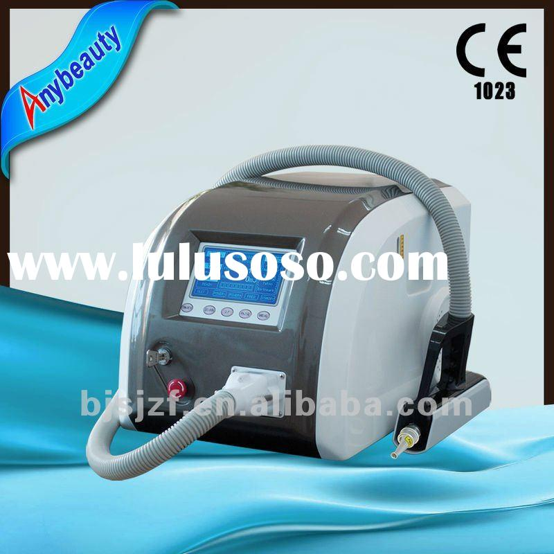Q-switch F12 nd yag laser tattoo removal equipment with Medical CE approval