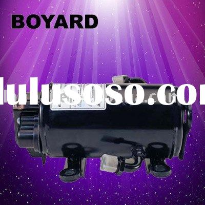 R134A DC 12V/24V/48V/72V compressor for truck air conditioning system & for use on coaches, trac