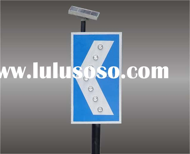Solar Directional Sign