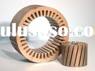 Stator rotor core for shade pole motor