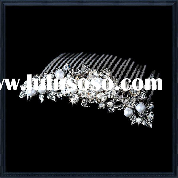 Stunning & trendy crystal wedding hair accessories