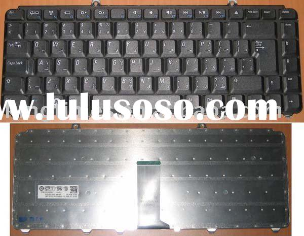 Supply Arabic laptop keyboard use for Dell 1400 1500 XPS M1330 series notebook