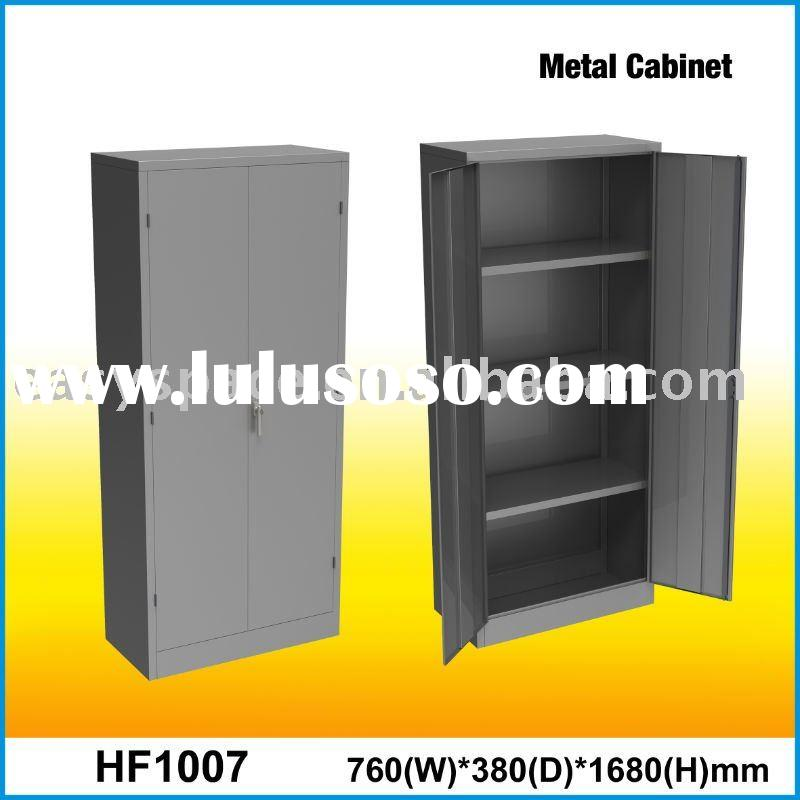 Two-door Galvanized Metal Cabinet