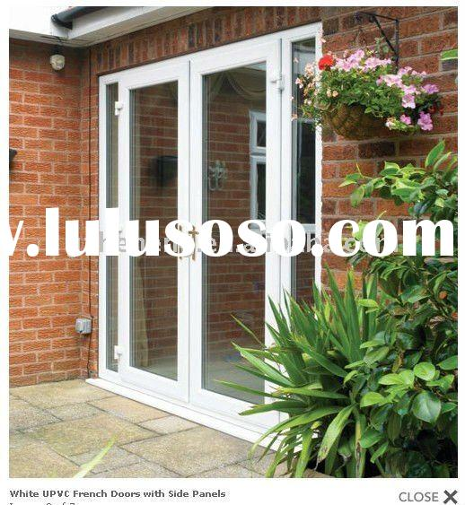 2011 New Upvc Door French Doors With Side Panels For Sale Price China Manufacturer Supplier