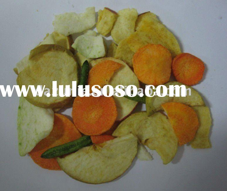 Vacuum Frying Mixed Vegetable & Fruit Chips