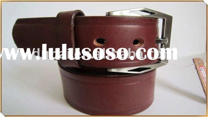 Western cowhide top grain mexican leather belt