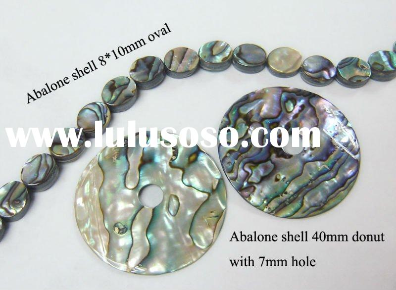 Wholesale high quality natural abalone shell beads &dounts